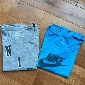 LOT OF 2 NIKE T-SHIRTS SIZE XL